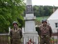 Oslavy 75. výročí osvobození americkou armádou a konec 2. světové války 1